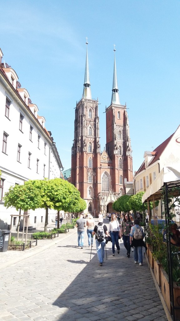 Cathedral Towers Wroclaw Poland