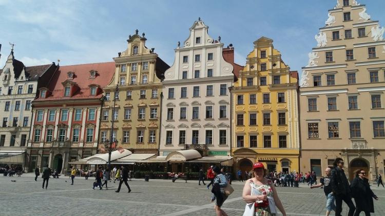 Wroclaw Market Square Poland