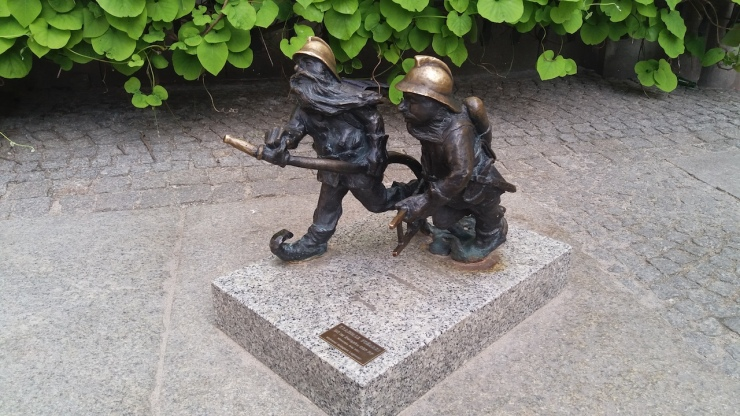 Fire Fighter Dwarfs Wroclaw Poland