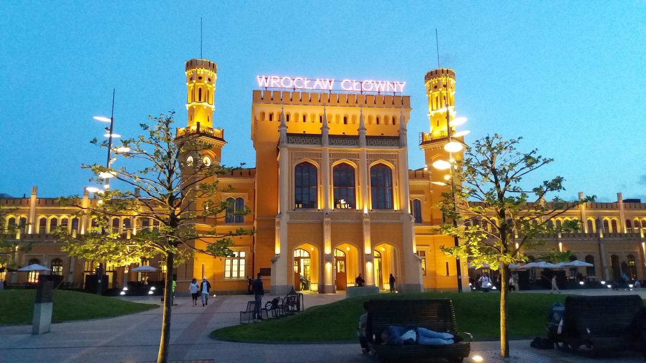 Wroclaw Glowny Station Poland