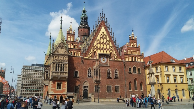 Wroclaw Town Hall Poland
